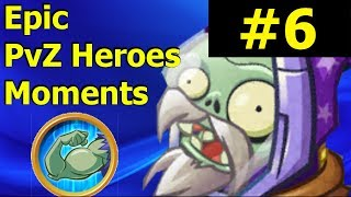BRUTAL PvZ Heroes Highlights and Glitches #25