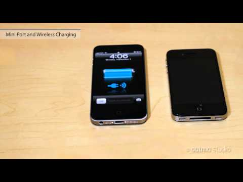iPhone 5 Features New [1 of 3] -- Larger Screen & Wireless Charging