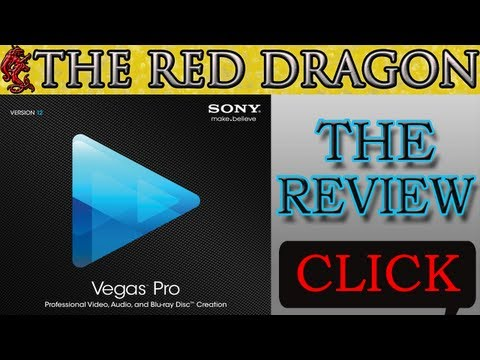Sony Vegas Pro 12 Review - What's NEW - Render Settings