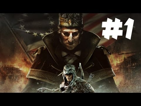 Assassin's Creed 3 King Washington DLC Gameplay Walkthrough – Part 1 (Xbox 360/PS3/PC HD)