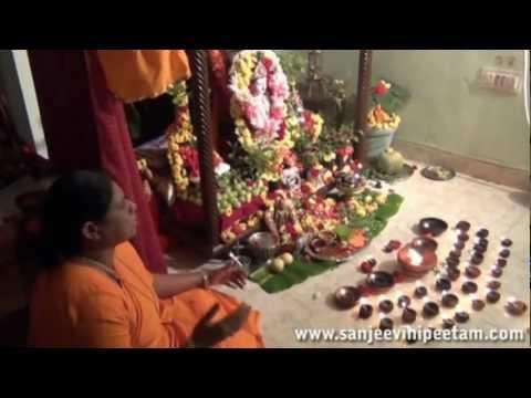 Ksheerabdhi Dwadasi 2012-tulasi Pradakshina Gummi Pata,tulasi Matha Govinda Namalu video