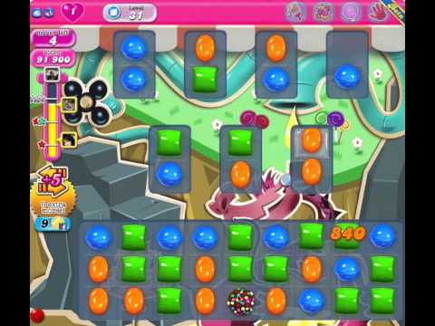 Candy Crush Saga Facebook - Level 31 - 3 stars - no boosters - 107860