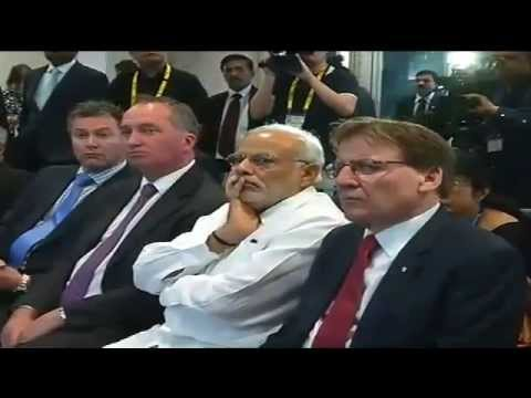 Narendra Modi Speech in Queensland University of Technology