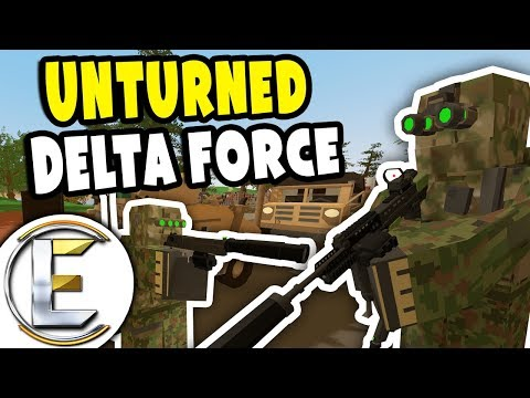 Stolen Military Equipment Convoy | Unturned Special Forces RP - Delta Force (Roleplay) thumbnail