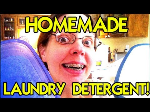 HOW TO Make the BEST Homemade Laundry Detergent!