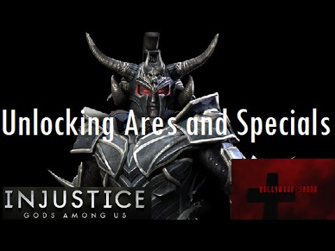 Injustice Gods Among Us iOS Unlocking Ares and Specials
