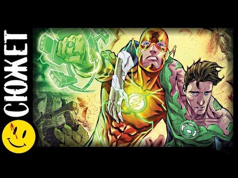 ФЛЭШ - ЗЕЛЕНЫЙ ФОНАРЬ! Как Барри Аллен получил кольцо зеленого фонаря? (DC New-52)