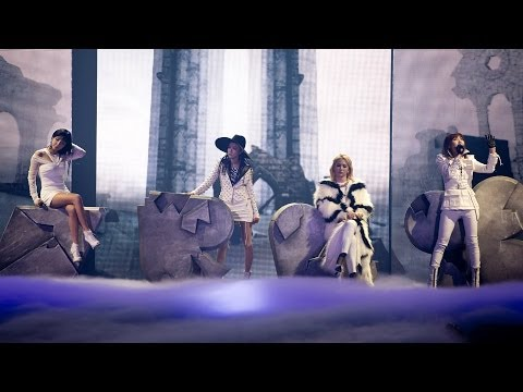 2ne1 - 살아 봤으면 해 (if I Were You) Live Performance video