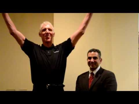 Bill Walton, NBA Legend, supporting Dr. William D. Hunter with spine surgery, XLIF