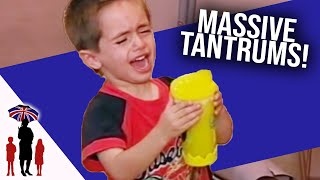 How to Deal with Tantrums | Supernanny