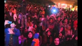 New Year at Port Grand Count down  Jugni performan