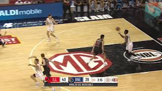 LaMelo Ball Posts 12 points & 10 rebounds vs. Brisbane Bullets