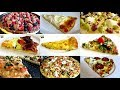 TOP 17 HOMEMADE PIZZA RECIPES INCLUDING BACON & EGGS PIZZA, MACARONI & CHEESE PIZZA AND MORE