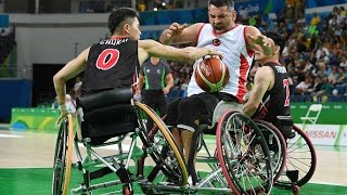 Wheelchair Basketball | Turkey vs Japan | Men's preliminaries | Rio 2016