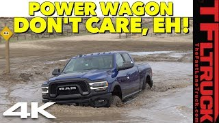 First Dirt! New 2019 Ram Power Wagon Wet Off-Road Review