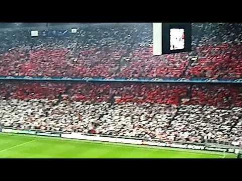 Opkomst Ajax - Dinamo Kiev