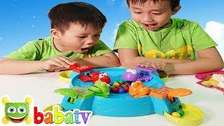 Trò Chơi Ếch ăn Kẹo | Đồ Chơi Trẻ Em | BaBaTV