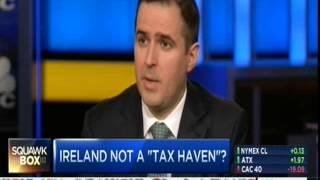 IDA Ireland CEO Martin Shanahan at CNBC Squawk Box: Investors See Green in Ireland