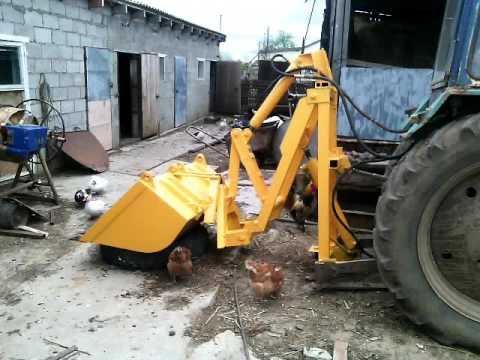 Как сделать заднюю навеску трактора 37