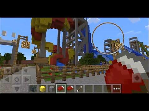 Minecraft Indonesia - Berenang di Waterboom!!!
