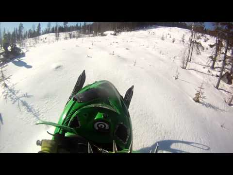 ARCTIC CAT M7 AND M8 LONG AND NICE SPRING HILLCLIMB 2013