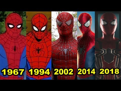 Эволюция Человека-паука (1967-2018)