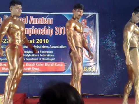 Raipur Chattisgarh National Body building Amature... Video ...