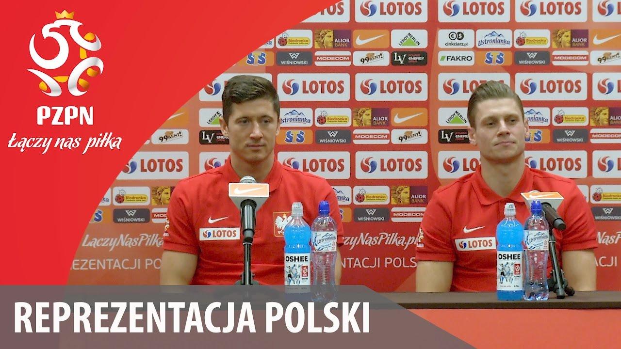 Konferencja reprezentacji Polski (Warszawa, 08.11.2016)