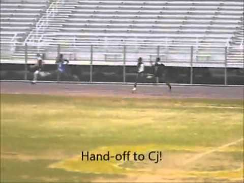 Ola High School 4x1 2012
