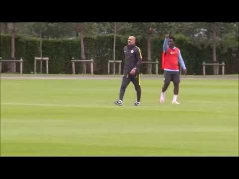 Diferencias primer entrenamiento Guardiola Bayern Munich y Manchester City