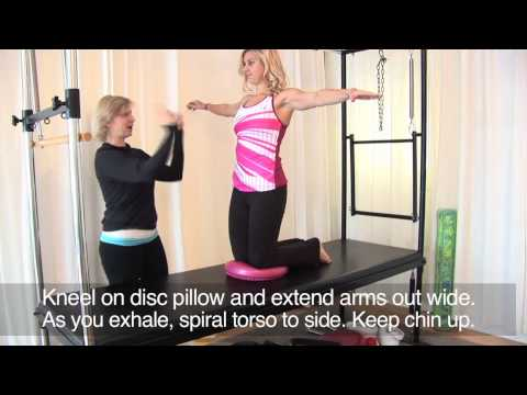 How to Use a Balance Disc | Sarah Dussault