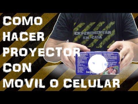 Como Hacer Proyector Casero con Movil o Celular (Experimentar En Casa)