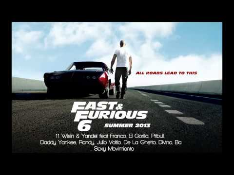 Fast & Furious 6: Wisin & Yandel, Pitbull, Daddy Yankee - Sexy Movimiento Remix video