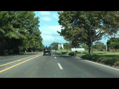 Driving from TAP-Airport to Tapachula Mexico 1080 50p Full HD
