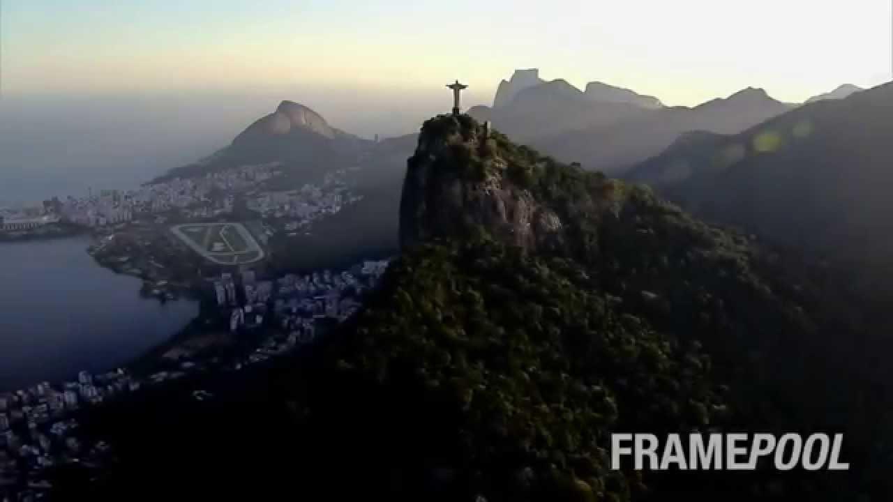 Birds Eye View of Rio de Janeiro Rio de Janeiro Bird's-eye View