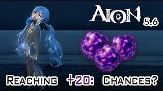 Aion 5.6 - Reaching +20: Chances Improved?!