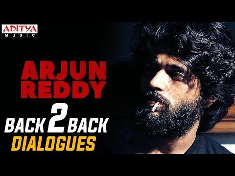 Arjun Reddy Back 2 Back Dialogues || Arjun Reddy Movie || Vijay Devarakonda || Shalini