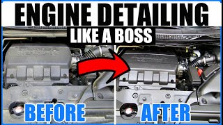 Safest Way To Clean Your Engine Without Water!