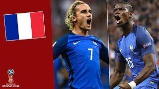 Đội hình ĐT Pháp tham dự World Cup 2018