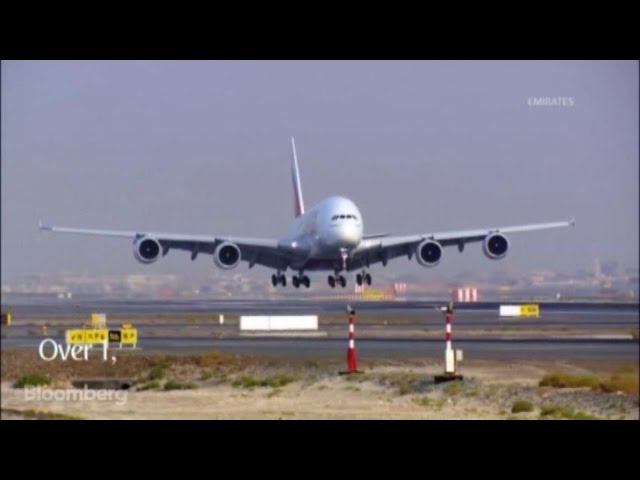 How to Gut a Super Jumbo A380 in Two Minutes