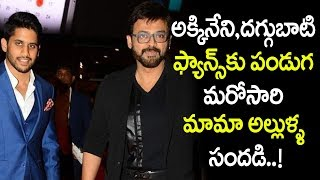 Venkatesh and Naga chaitanya To work Together Again | Venkatesh | Naga Chatainya | Top Telugu Media
