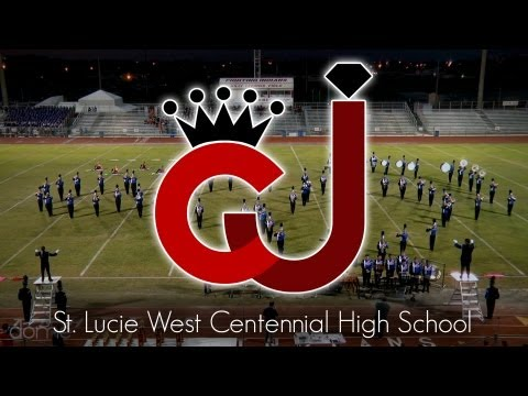 St. Lucie West Centennial High School - Crown Jewel Marching Band Festival 2012