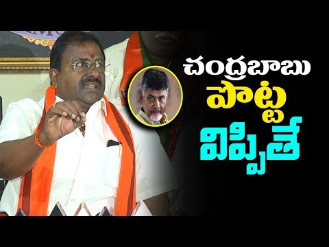 BJP MLC Somu Veeraju Comments On CM Chandrababu Naidu | AP Political Updates | mana aksharam