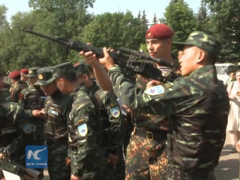 China, Russia launch joint anti-terror drills
