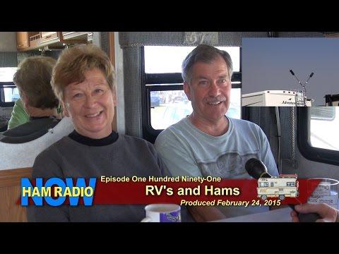HRN 191: RV's and Hams, from Orlando on HamRadioNow