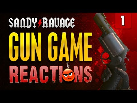 Gun Game Reactions Ep. 1 - The Guido  [Call of Duty: Black Ops 2]