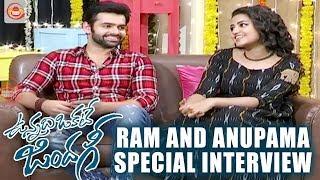 Ram and Anupama Diwali Special Interview About Unnadi Okate Zindagi Movie