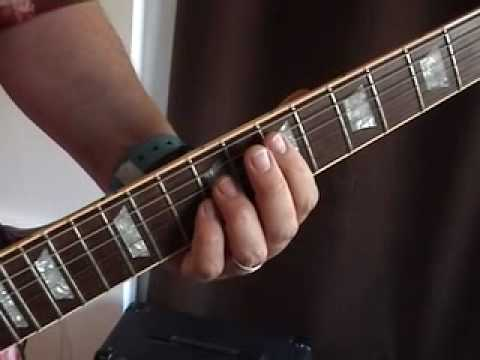 How to Play Guitar Hero Songs on Electric Guitar: Paranoid by Black Sabbath