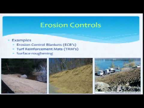 erosion and sediment control planning and design manual