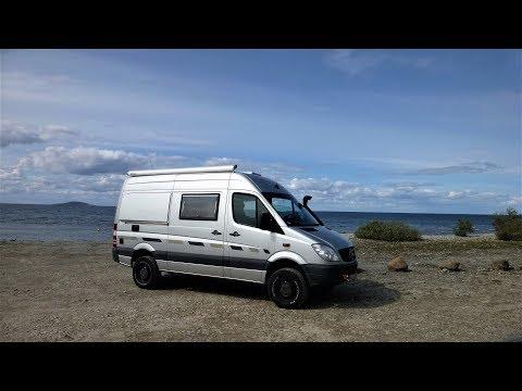 Teil 4 Sprinter4x4: Wir reisen mit unserem Allrad-Camper-Van durch Schweden.